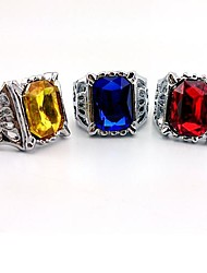 Jewelry Inspired by Black Butler Cosplay Anime Cosplay Accessories Ring Red / Yellow / Blue Alloy Male