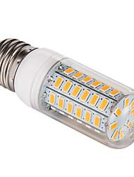 E26/E27 12 W 56 SMD 5730 1200 LM Warm White Corn Bulbs AC 220-240 V