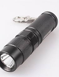 LT-520 3-Mode  1xCree XP-E R2 700LM LED Flashlight (700Lm,1x18650,Black)
