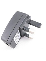 Universal Portable UK Travel Power Adapter Plugs (100V~240V,500mah)