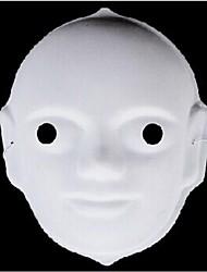 Fancy Dress Party Halloween Graffiti Mask (Random Color)