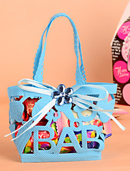 Handbag Design with Gems Bowknot Favor Bag-Set of 12(More Colors)