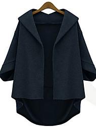 mokio vrouwen Koreaanse mode causale losse wollen jas