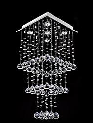 k9 moderno cristal gu10 5 luz montaje empotrado