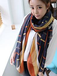 liefde citeert damesmode verse strips shawl / sjaal 170 * 80cm_1283368624