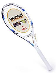 de fibra de carbono de color azul claro weidong&Al-ti raqueta de tenis de aleación