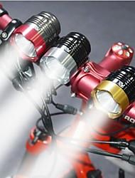 Luce frontale per bici LED Cree T6 Ciclismo Impermeabili / Resistente agli urti 2000 Lumens USB Ciclismo / Viaggi / moto
