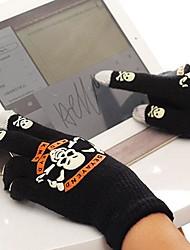 мужские черепа емкостные сенсорные перчатки