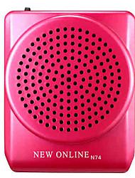 alto-falante de voz amplificador megafone várias cores para professores guia turístico newonline N74