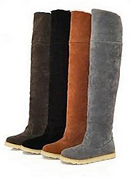 botas para la nieve A071 de las mujeres jóvenes