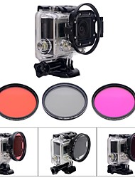 Accessories For GoPro Dive Filter / Waterproof Housing / Lens Filter / Accessory Kit Waterproof, For-Action Camera,Gopro Hero 2 / Gopro