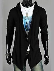 Men's Pure Cardigan , Cotton Long Sleeve