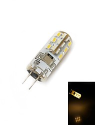 G4 1.5 W 24 SMD 100 LM Warm White Corn Bulbs AC 220-240 V