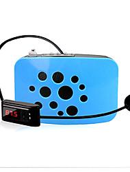 Loudspeaker Voice Amplifier Megaphone Wireless for Teacher USB MP3 FM Voice Recording K100Q