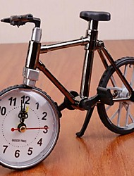 High Quality Plastic Antique Bicycle Alarm Clock (Color random)