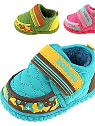 Children's Shoes Snow Boats Flat Heel Ankle Boots with Magic Tape More Colors available
