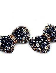 Crystal Bowknot Decorative Accents for Shoes One Pair