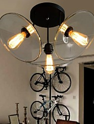 Mini Style Pendant Lights , Traditional/Classic/Vintage/Retro/Lantern/CountryLiving Room/Bedroom/Dining Room/Kitchen/Study