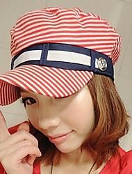 mode casquette de toile mignon frange de marin des femmes