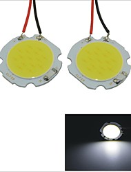 Carking™ T10 / BA9S / Festoon 28mm~40mm 2W 15-COB LED White Car Interior Dome Light(2PCS)