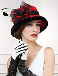 Mulheres Lã Capacete-Casual Chapéus