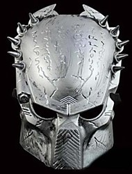 Cool Iron Warrior Mask for Halloween(Gold&Silver)