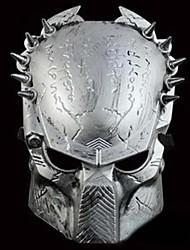 frais masque de guerrier de fer pour Halloween (d'or&argent)