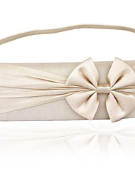 Silk Wedding / Special Occasion Clutches / Evening Handbags with Bow (More Colors)