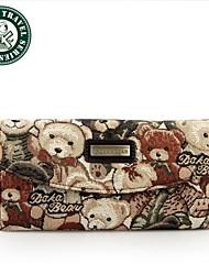 DAKA BEAR ® Womens Fashion Clutch Wallet