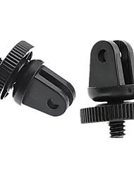 Accessoires für GoPro,Stativ SchraubeFür-Action Kamera,Gopro Hero 2 Gopro Hero 3+ GoPro Hero 5 Gopro 3/2/1 Plastik Edelstahl