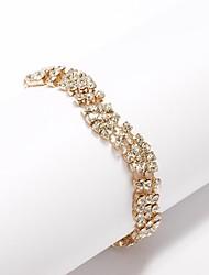 Women's Personalized Bracelet Cubic Zirconia/Alloy Cubic Zirconia