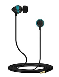 de audio de 3,5 mm en forma de metal auricular bajo clara in-ear con el mic para el iphone 6 / samsung / htc / moto teléfonos celulares&tabs