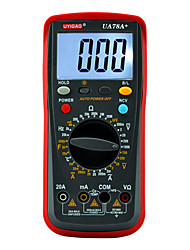 UA78A+ Digital Multimeter with LED Backlight AC DC Voltage Current Resistance Capacitance 10 MΩ