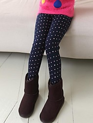 Girl's Blue / Pink / Gray Leggings Cotton Blend Winter / Spring / Fall