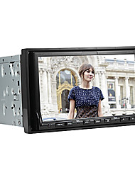 2 Din TFT Touch Screen In-Dash Car DVD Player With Bluetooth,IPod-Input,RDS