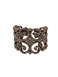 unisex vintage Punk-Stil gewebte Muster Ring 19,8 mm