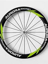 AURORA RACING 700c Road 50C-20.5mm Full Carbon Clincher Road Bike Wheels  with Pr13 Hub