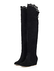 Women's Shoes Fashion Boots Wedges Heel Over The Knee Boots More Colors available