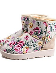 Women's Shoes Round Toe Snow Boots Flat Heel Ankle Boots More Colors available