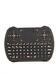 2.4G Wireless Keyboard Touchpad Mini Player Remote Control Keyboard