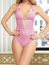 Women's Europe Sexy Low-Cut Backless One-Pieces Lingerie