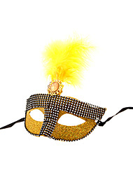 Gold Gorgeous Women's Party Mask
