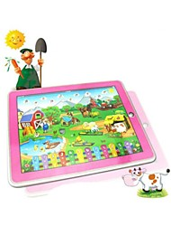 Happy Farm Tablet Machine Learning Educational Toys(Ramdom Color)