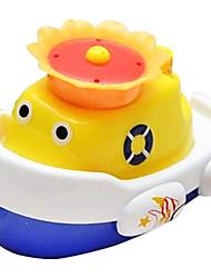 Форма лодка авто спрей брызг воды для купания младенца флоат игрушек