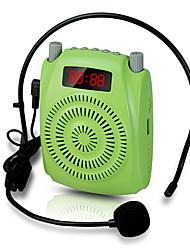 haut-parleur la voix amplificateur mégaphone soutien tf usb aux mp3 fm grande puissance k20