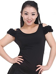 dancewear Frauen chinlon Netz latin / modern dance Tops