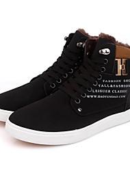 Scarpe da uomo - Sneakers alla moda - Casual - PVC - Nero / Giallo / Verde
