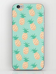 For iPhone 7 Plus Small Blue Pineapple Pattern hard Case for iPhone 6s 6 Plus