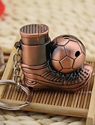 Creative Football  Style Windproof  Metal  Butane Jet Gas Lighter