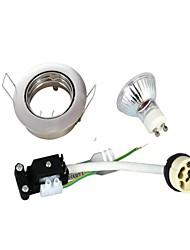3W GU10 Lâmpada de Embutir Encaixe Embutido 9 SMD 2835 230 lm Branco Quente AC 220-240 V